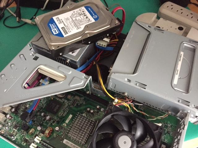 esprimo内蔵HDD交換