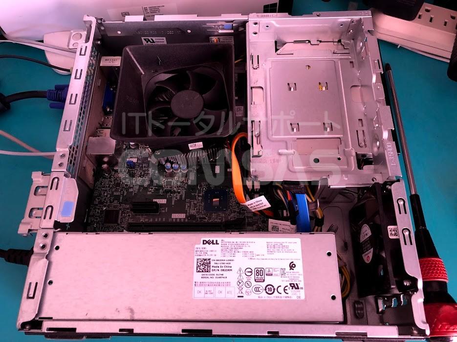 VOSTRO SSD換装